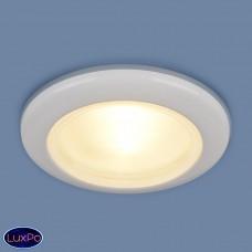 Влагозащищенный встраиваемый точечный светильник Elektrostandard 1080 MR16 WH белый a031492