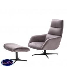 Вращающее кресло и оттоманка Eichholtz Nautilus 112062