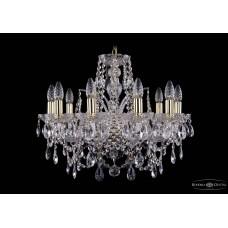 Хрустальная люстра Bohemia Ivele Crystal 1411-10-195-G