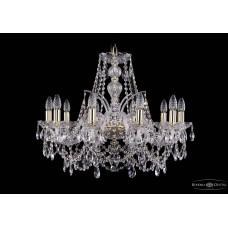 Хрустальная люстра Bohemia Ivele Crystal 1411-10-240-G