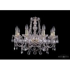 Хрустальная люстра Bohemia Ivele Crystal 1411-8-195-G