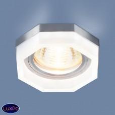 Встраиваемый потолочный светильник с LED подсветкой Elektrostandard 2206 MR16 MT матовый a039158