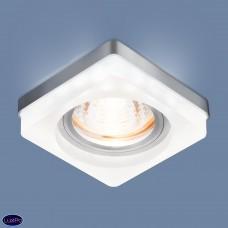 Встраиваемый потолочный светильник с LED подсветкой Elektrostandard 2207 MR16 MT матовый a039159