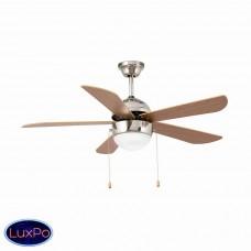 Люстра потолочная с вентилятором Faro Veneto Niquel 33319FAR