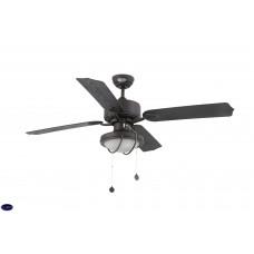 Люстра потолочная с вентилятором Faro Hierro Marron 33356FAR