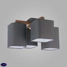 Люстра потолочная TK Lighting 4166 Tora Gray