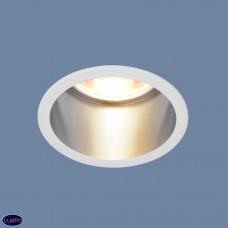 Встраиваемый потолочный светильник Elektrostandard 7004 MR16 WH/SL белый/серебро a036621