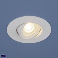 Встраиваемый поворотный светодиодный светильник Elektrostandard 9914 LED 6W WH белый a044624