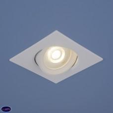Встраиваемый поворотный светодиодный светильник Elektrostandard 9915 LED 6W WH белый a044629