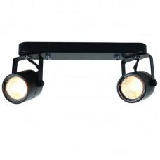Спот Arte Lamp A1310PL-2BK
