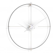 Часы Nomon  BILBAO L(black/white), d=110см BIL000NB