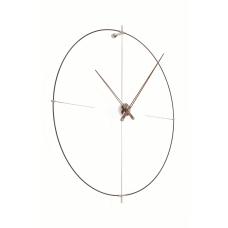 Часы Nomon  BILBAO N(black/walnut), d=110см BIN000NN