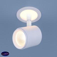 Акцентный светодиодный встраиваемый светильник Elektrostandard DSR002 9W 3300K белый матовый a039155