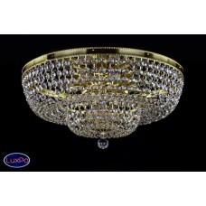 Люстра потолочная хрустальная ArtGlass GERTA DIA 600