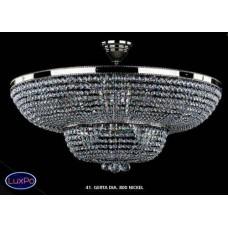 Люстра потолочная хрустальная ArtGlass GERTA DIA 800