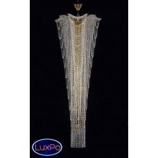 Люстра потолочная хрустальная ArtGlass MELANIE DIA 550x1500