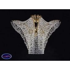 Люстра потолочная хрустальная ArtGlass MELANIE DIA 550x300